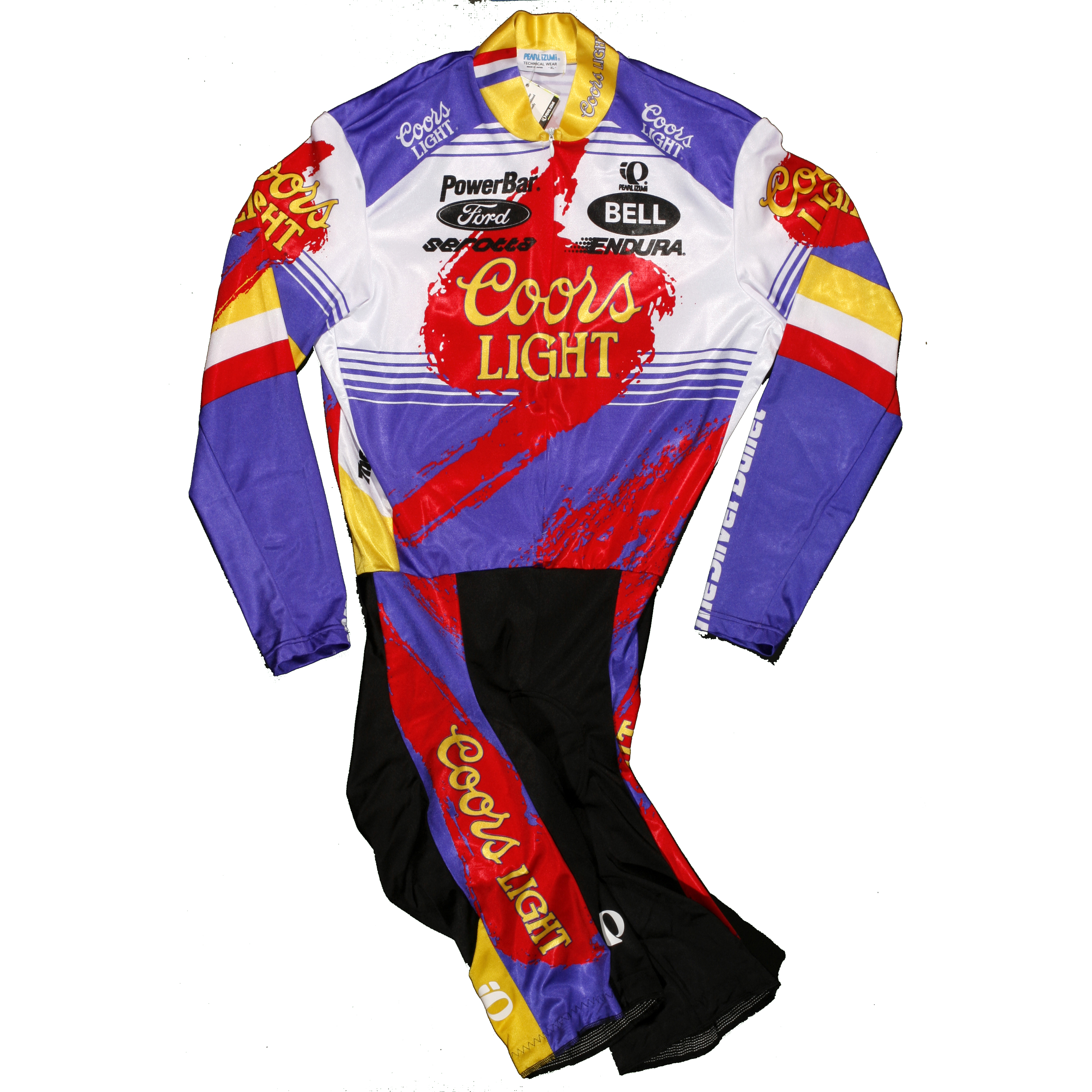 73eff87c2 Authentic Coors Light Skinsuit - Team Issue - Horton Collection